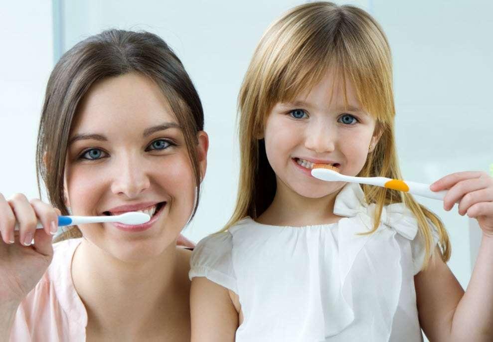 Diş Fırçalamanın Aşamaları
